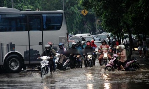 Jakarta Kembali di Genangi Banjir