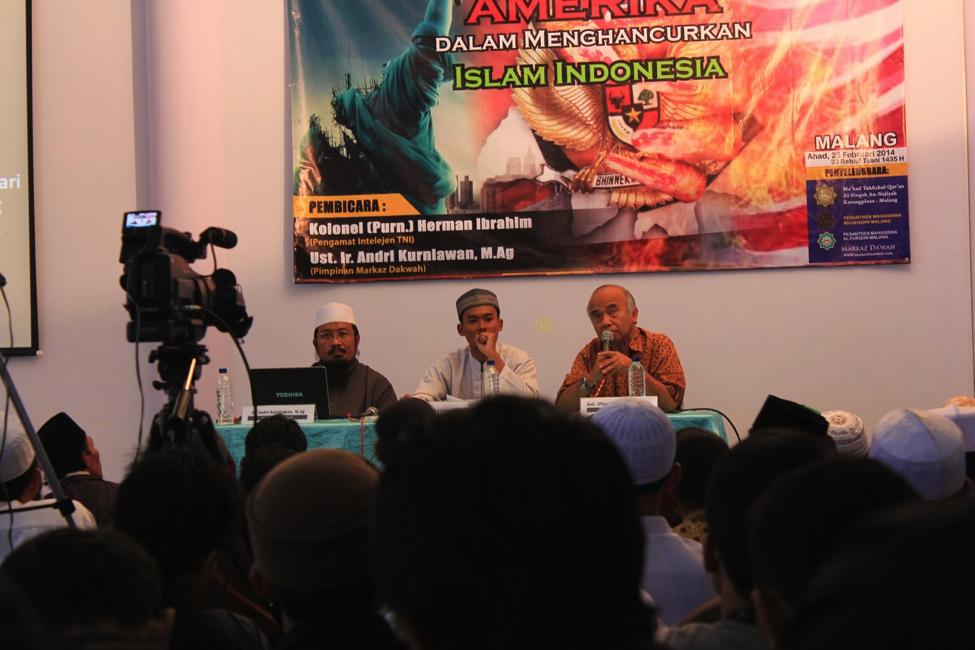 Membuka Kedok Inteljen Amerika di Indonesia