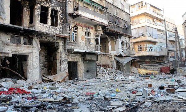 Pasukan Rezim Assad Menewaskan 853 warga Aleppo