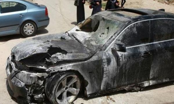 pasukan yahudi rusak 30 mobil warga palestina. Black Bedroom Furniture Sets. Home Design Ideas