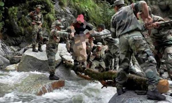 Seorang Tentara India Tewas Bunuh Diri