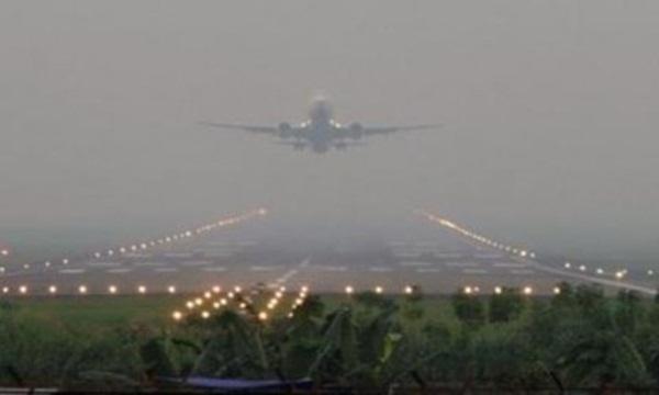 Akibat kabut asap Puluhan Penerbangan Terganggu