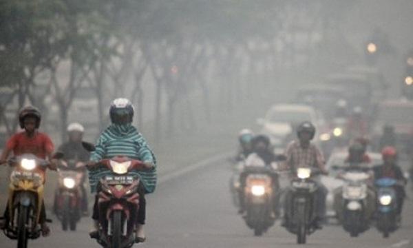 Kabut Asap di Riau Buat Warga Jenuh