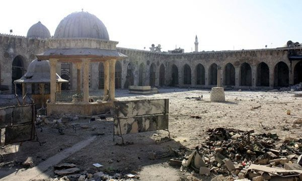 Pasukan Rezim Assad Menghancurkan Ribuan Masjid Bersejarah