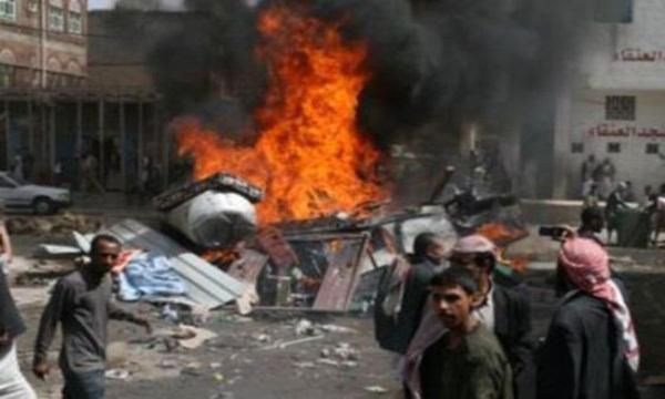Sebuah Ledakan Bom Hantam Markas Inteljen Yaman