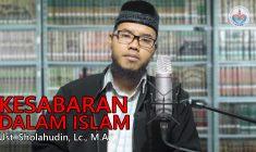 Kesabaran Dalam Islam