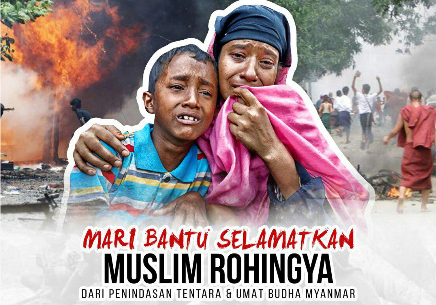 Peduli Muslim Rohingya