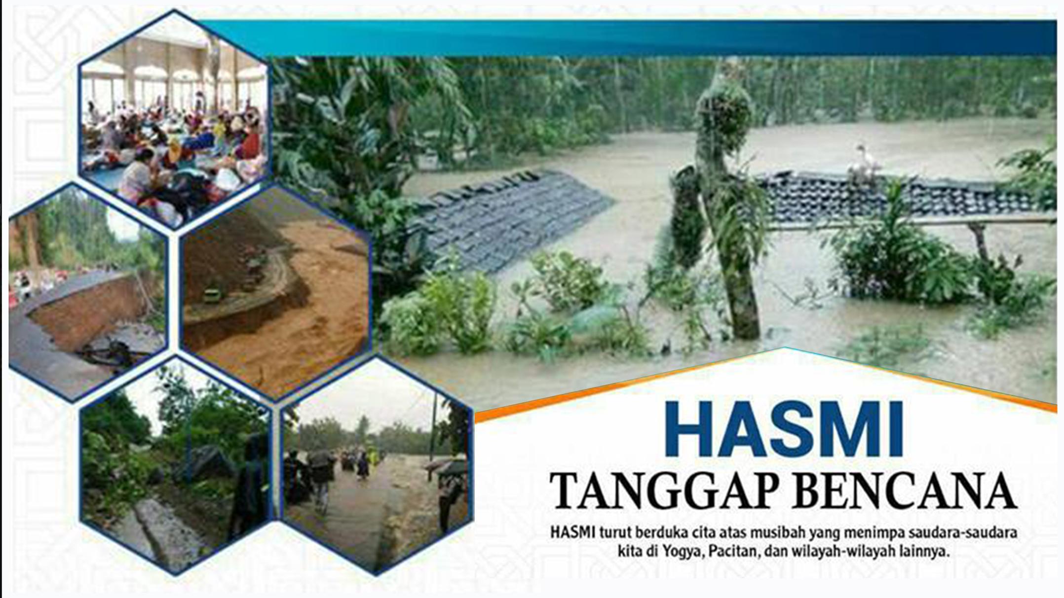HASMI Tanggap Bencana – Yogyakarta, Pacitan Dan Sekitarnya