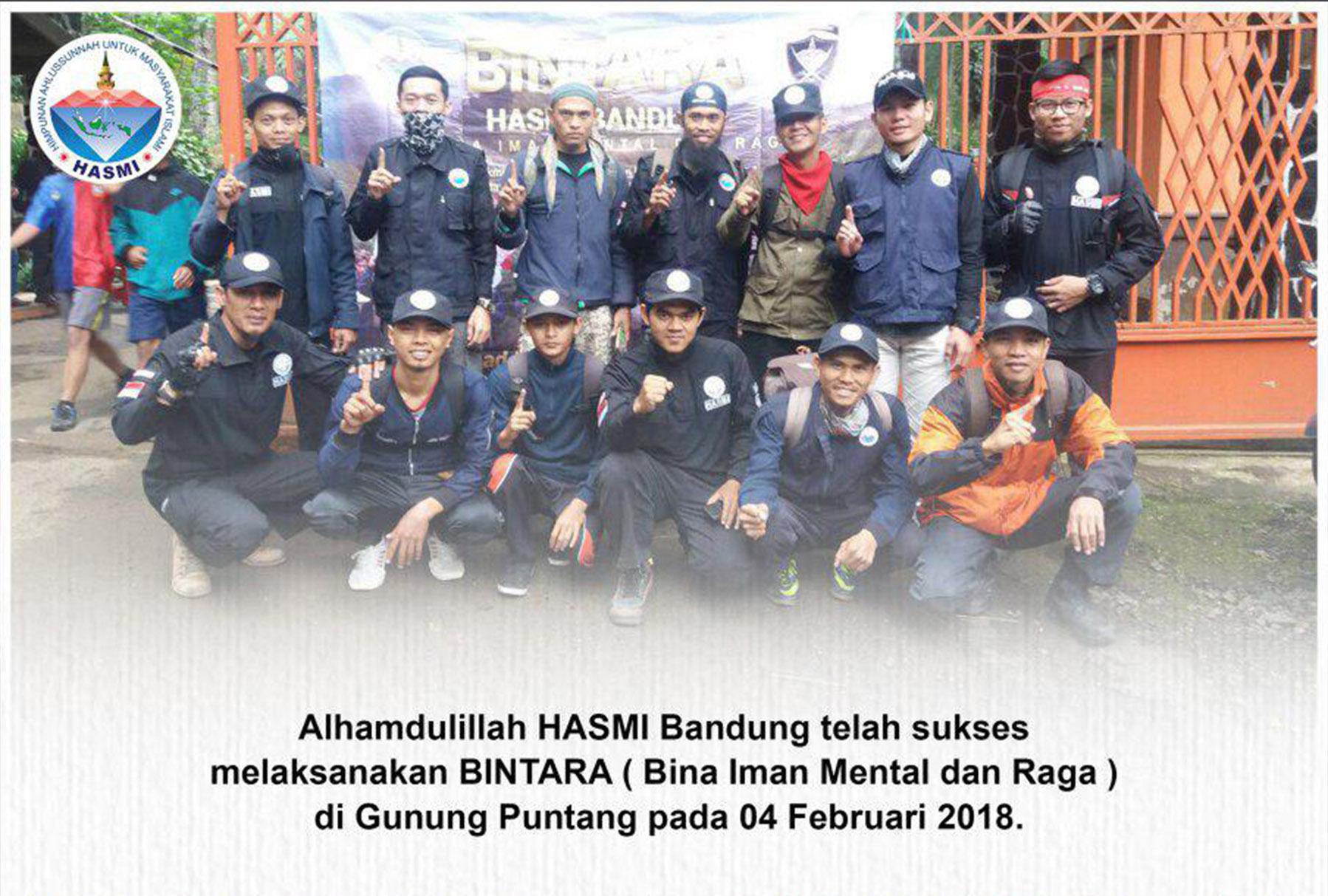 HASMI Bandung Sukses Melaksanakan BINTARA di Gunung Puntang