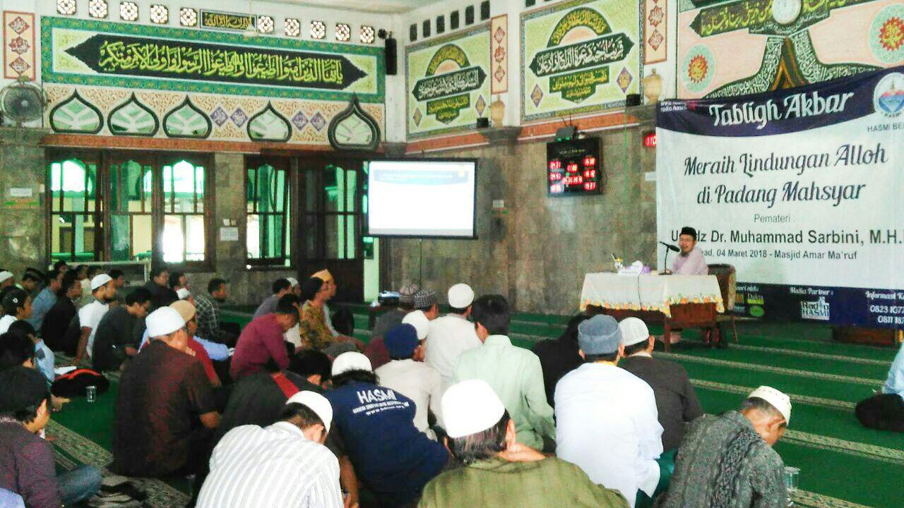 HASMI Sukses Gelar Tabligh Akbar Di Kota Bekasi