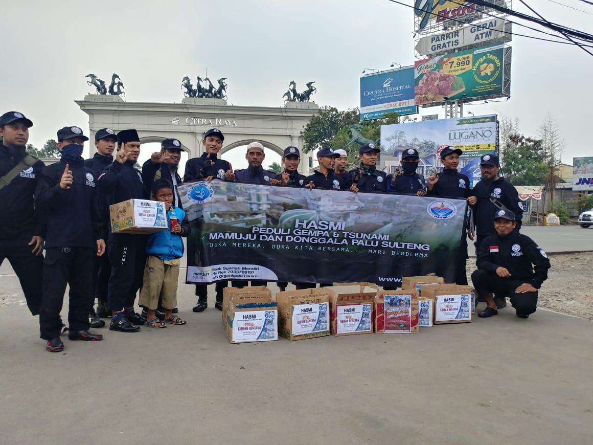 HASMI Peduli Gempa Dan Tsunami Palu – Sulawesi Tengah