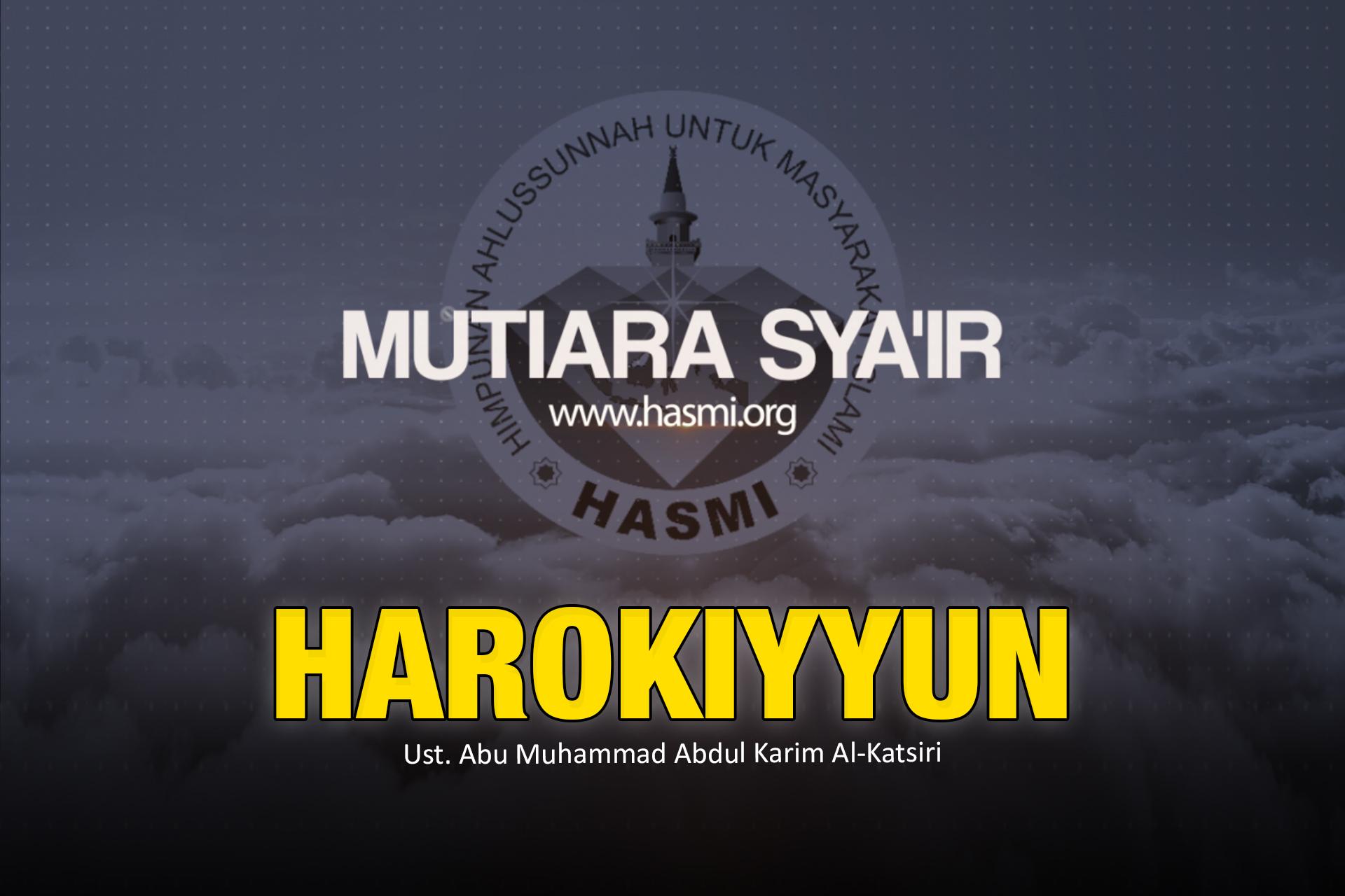 Mutiara Syair Harokiyyun