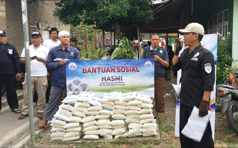 HASMI Peduli – Salurkan Paket Bantuan Untuk Dhuafa Kp Cilubang Sabit