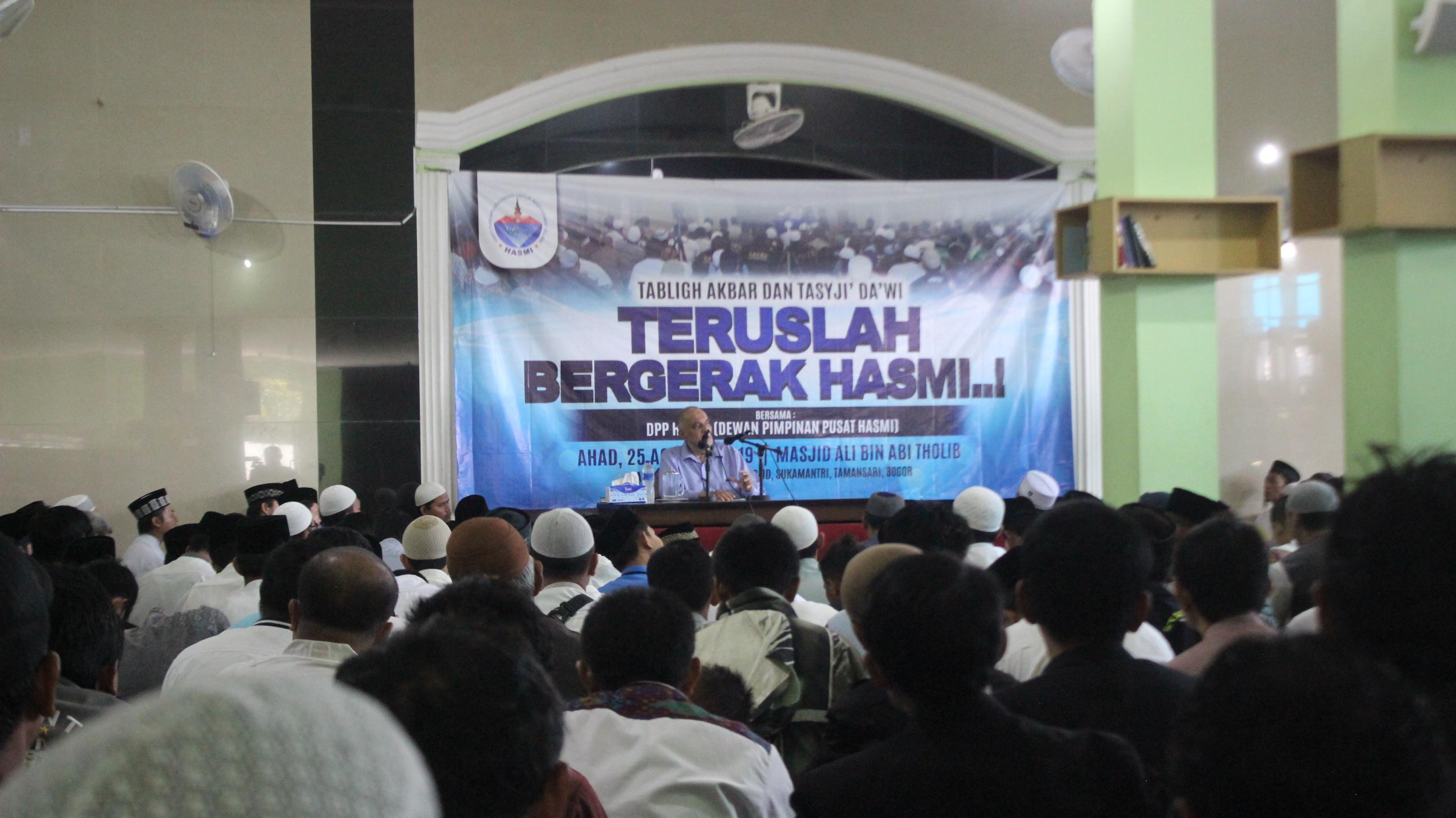 Ribuan Peserta Padati Tabligh Akbar & Tasyji' Da'wi Bersama DPP HASMI