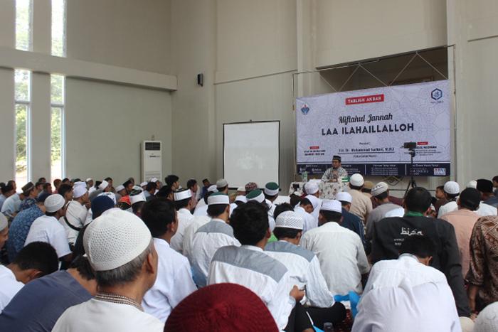 Ribuan Kaum Muslimin Hadiri Tabligh Akbar HASMI Miftahul Jannah Laa Ilahaillalloh