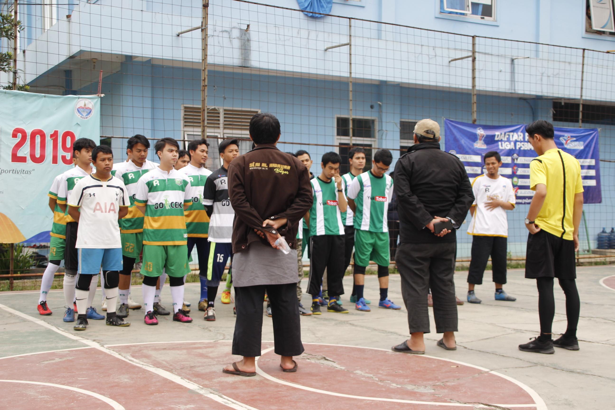 Usroh Kaffa Akhirnya Memantaskan Diri Sebagai Juara Turnamen Futsal