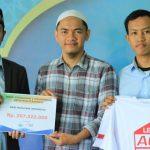 HASMI Menyerahkan Donasi Untuk Kaum Muslimin Rohingya