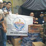 Kebakaran Di Bogor, Garda HASMI Sigap Membantu