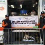 Truck Makanan HASMI Untuk Korban Gempa Lombok