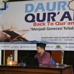 """Back To Qur'an """"Menjadi Generasi Teladan"""""""