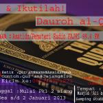 Hadiri & Ikutilah! Dauroh al-Qur'an Akhir Tahun