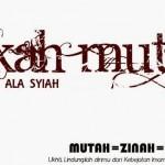 Nikah Mut'ah Dalam Pandangan Islam