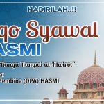 Hadirilah!! Liqo' Syawal HASMI (Himpunan Ahlussunnah untuk Masyarakat Islami)