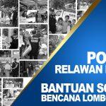 Relawan Sosial HASMI – Membantu Korban Gempa Lombok