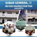 KABAR GEMBIRA!! Pesantren GRATIS Ma'had Dauroh Syar'iyyah Jakarta