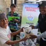 HASMI Menyerahkan Paket Bantuan Kepada Masyarakat Kp Pasir Eurih