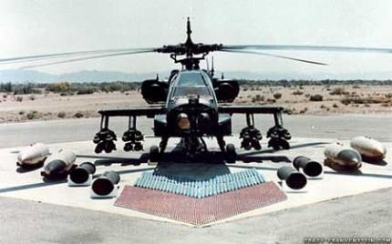 Perangi Pasukan Bersenjata, Amerika Berencana Jual 24 Apache ke Iraq