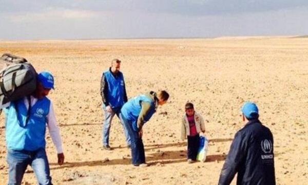 PBB Temukan Bocah 4 Tahun di Gurun Yordania
