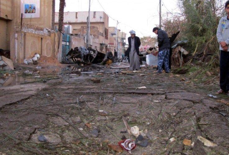 Terjadinya Serangan Bom di Baghdad