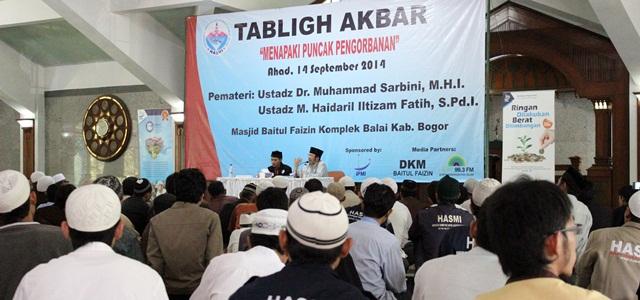 Antusias Para Peserta Banjiri Tabligh Akbar HASMI Bogor