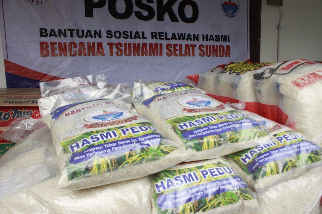 Peduli Korban Tsunami Selat Sunda, HASMI Kirimkan Relawan