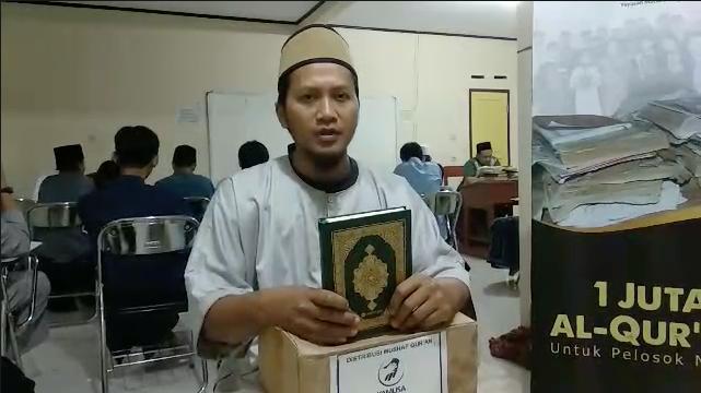 HASMI Peduli – Melalui Yayasan Mutiara Surga Berbagi Al Quran
