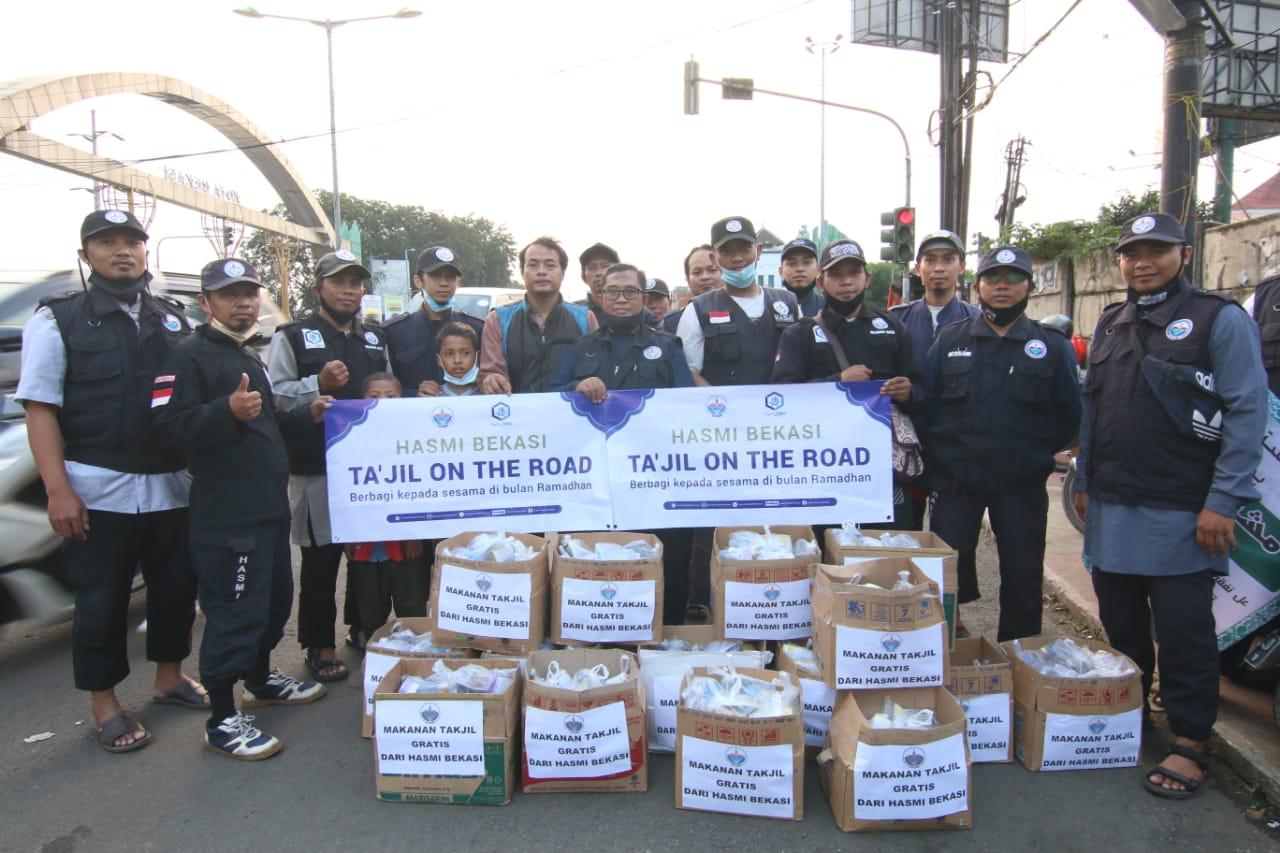 Ta'jil On the Road (TOR) HASMI Jabodetabek, Bandung, dan Klaten