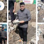 Peletakan Batu Pertama Pembangunan Sekolah Tahfidz Qur'an Az-Zuman HASMI Jateng