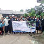 Sambut Ramadhan – HASMI Bogor Bersih-bersih Lingkungan di Kp Buniaga