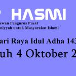 DPP HASMI Tetapkan Hari Raya Idul Adha 4 Oktober 2014