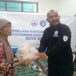 Angin Puting Beliung di Bogor – Relawan HASMI Salurkan Bantuan Sosial