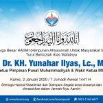 Prof Dr KH Yunahar Ilyas Meninggal – HASMI Ucapkan Ta'ziah