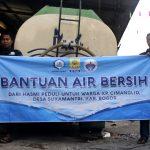 HASMI Bagikan Air Bersih Kepada Warga Kp Cimanglid – Bogor
