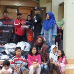 HASMI Berikan Bantuan Kepada Korban Bencana Longsor Di Bogor