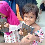 Wakaf Qur'an untuk Santri dan Jamaah Masjid di Majalengka