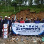 HASMI Peduli – Salurkan Bantuan Untuk Korban Longsor di Jateng