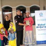 HASMI Salurkan Mushaf Al Qur'an ke TPQ Al Asiun – Bogor