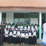 HASMI Berbagi Paket Bantuan Pangan untuk Santri Madrasah di Serang