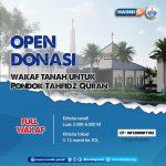 Open donasi Wakaf Tanah untuk Pondok Tahfidz Quran