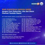 Mari Sukseskan Dakwah Hasmi dengan Cara Subscribe, Like dan Share Channel Youtube Hasmi